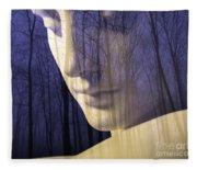 Reflection / The Philosophy Of Mind Fleece Blanket