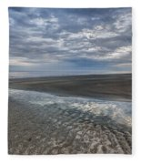 Reflections At Low Tide Fleece Blanket