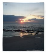 Reflections Cape May Point Fleece Blanket