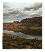 Reflections In Blue Mesa Fleece Blanket