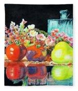 Reflections In Color Fleece Blanket