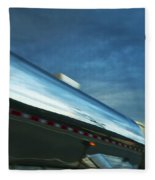Reflections In The Passing Lane Fleece Blanket
