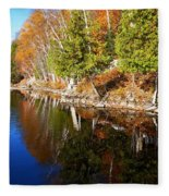 Reflections In Water Fleece Blanket