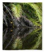 Reflections Marimbus River Brazil 2 Fleece Blanket