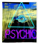 Reflections Of A Psychic Fleece Blanket