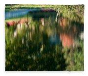 Reflections Of Colours  Fleece Blanket
