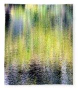 Reflections Of Fall 3 Fleece Blanket