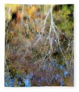 Reflections Of Fall 5 Fleece Blanket