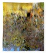 Reflections Of Fall1 Fleece Blanket