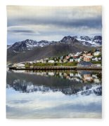 Reflections Of Iceland Fleece Blanket