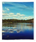Reflections Of Nature Fleece Blanket