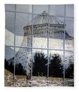 Reflections Of Riverfront Park Fleece Blanket