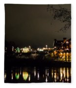 Reflections Of Taprock Fleece Blanket