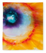 Reflections Of The Universe No. 2153 Fleece Blanket