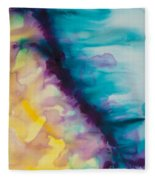 Reflections Of The Universe Series No 1420 Fleece Blanket