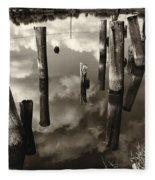 Reflections On The Bayou Villere La  Dsc05423 Fleece Blanket