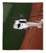 Reflective Helicopter Fleece Blanket