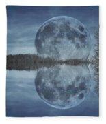 Reflective Paradise Fleece Blanket