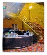 Refreshment Stand Radio City Music Hall Fleece Blanket
