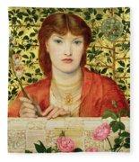 Regina Cordium Alice Wilding, 1866 Fleece Blanket