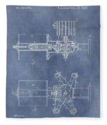 Regulator For Dynamo Electric Machine Patent Fleece Blanket