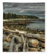 Reid Beach Fleece Blanket