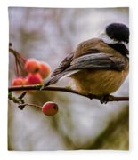 Relationships Are Like Birds Fleece Blanket