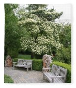 Relax In The Park Fleece Blanket
