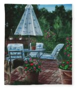 Relaxing Place Fleece Blanket