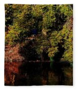 Relaxing To Sight Of Nature Fleece Blanket