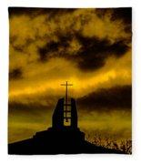 Religious Moment Fleece Blanket