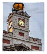 Reloj De Gobernacion 2 Fleece Blanket