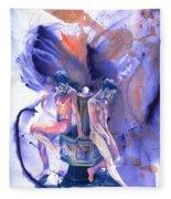 Reluctant Grace Fleece Blanket
