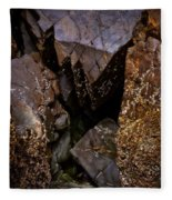 Remarkable Rocks Fleece Blanket