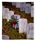 Remember Our Dead Fleece Blanket