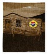 Remember When - Old Pepsi Sign Fleece Blanket
