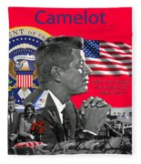 Remembering Camelot Fleece Blanket