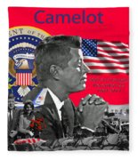 Remembering Camelot Fleece Blanket