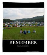Rememeber Fleece Blanket