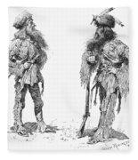 Remington Frontiersmen Fleece Blanket