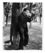 Renato Zanelli (1892-1935) Fleece Blanket