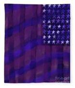 Repersentational Flag 3 Fleece Blanket