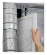 Replace Home Air Filter Fleece Blanket
