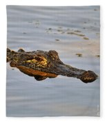 Reptile Reflection Fleece Blanket