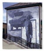 Derry Mural Resistance Fleece Blanket