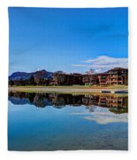 Resort Reflections 2 Fleece Blanket