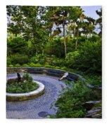Respite - Carl Schurz Park 2 - Manhattan - New York Fleece Blanket