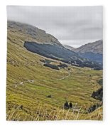 Rest And Be Thankful Pass Fleece Blanket