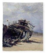 Rest Of A Shipwreck Fleece Blanket
