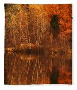 Restes D'automne Fleece Blanket